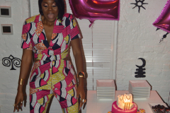 27th Birthday-My Birthday Dinner at 1230 DC in a Nikki Billie Jean Pretty in Pink 2 Piece Suit, Short Sleeve Blazer & Wide Leg Pants 24