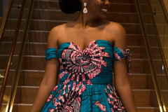 My Royal Ankara Print Ball Gown for Africa Gives Back International Gala 2018 13