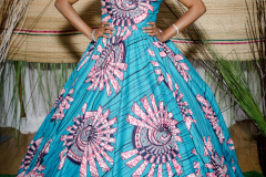 My Royal Ankara Print Ball Gown for Africa Gives Back International Gala 2018 2