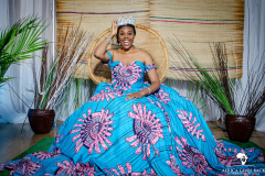 My Royal Ankara Print Ball Gown for Africa Gives Back International Gala 2018 3