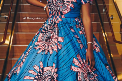My Royal Ankara Print Ball Gown for Africa Gives Back International Gala 2018 5