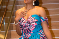 My Royal Ankara Print Ball Gown for Africa Gives Back International Gala 2018 9