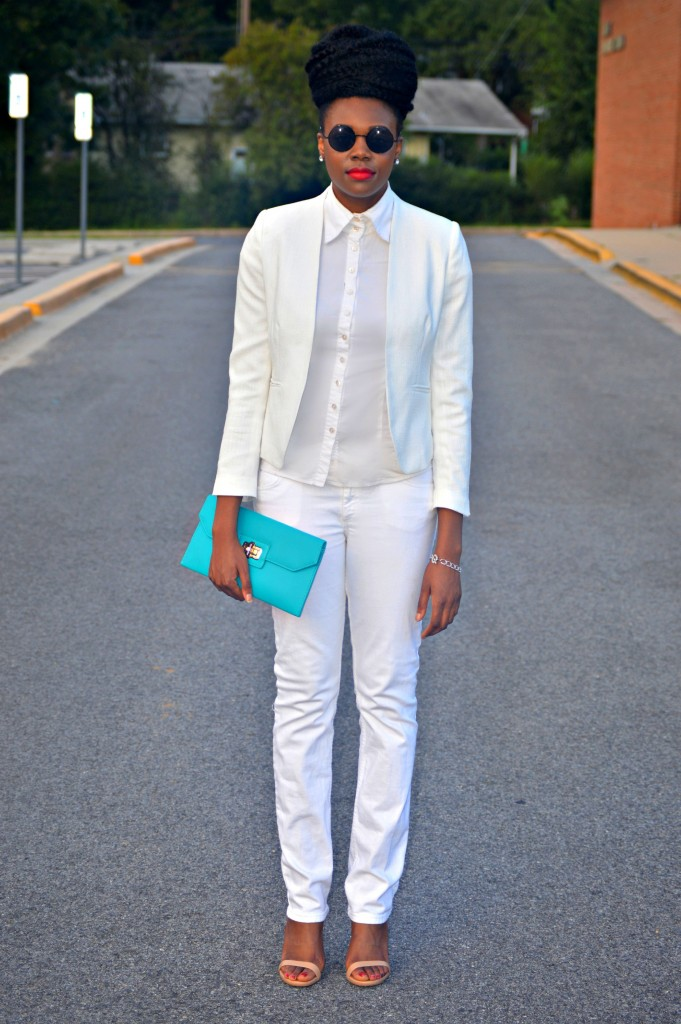 Nikki Billie Jean All White Suit 1