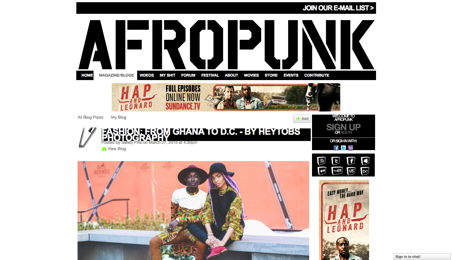 AFROPUNK-CHECK OUT PKDESIGN'S FASHION EDITORIAL PHOTOGRAPHY FOR PAN-AFRICAN PARALLEL MAGAZINE