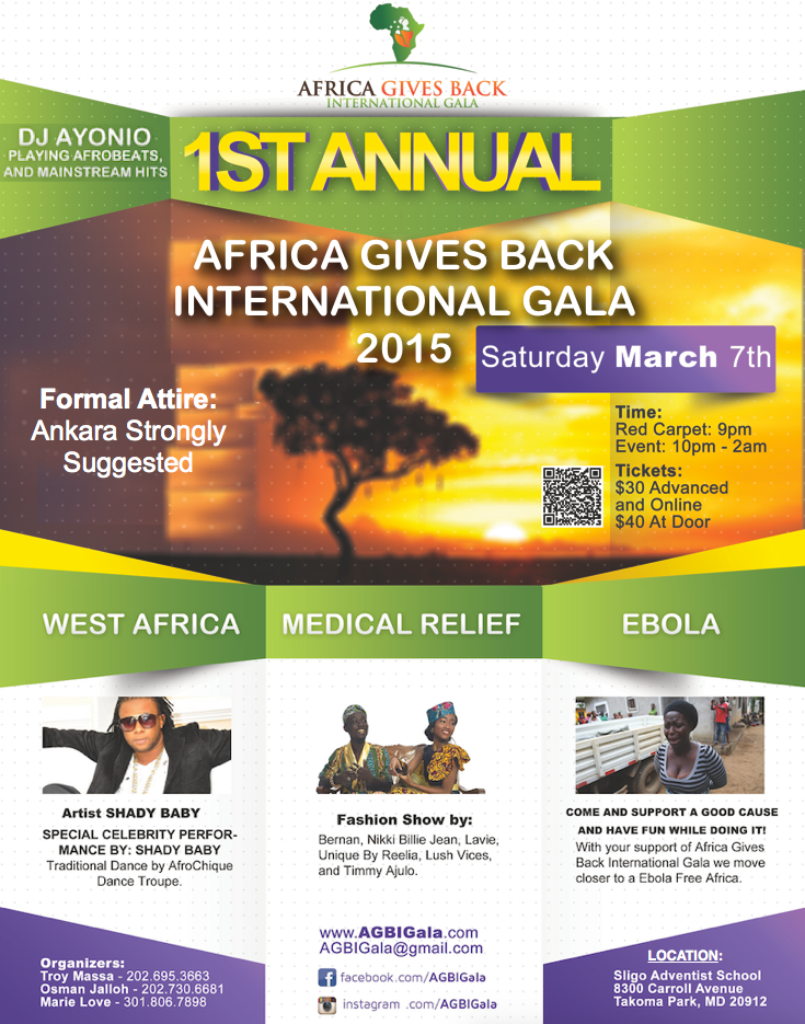 Africa Gives Back Intl Gala 2015