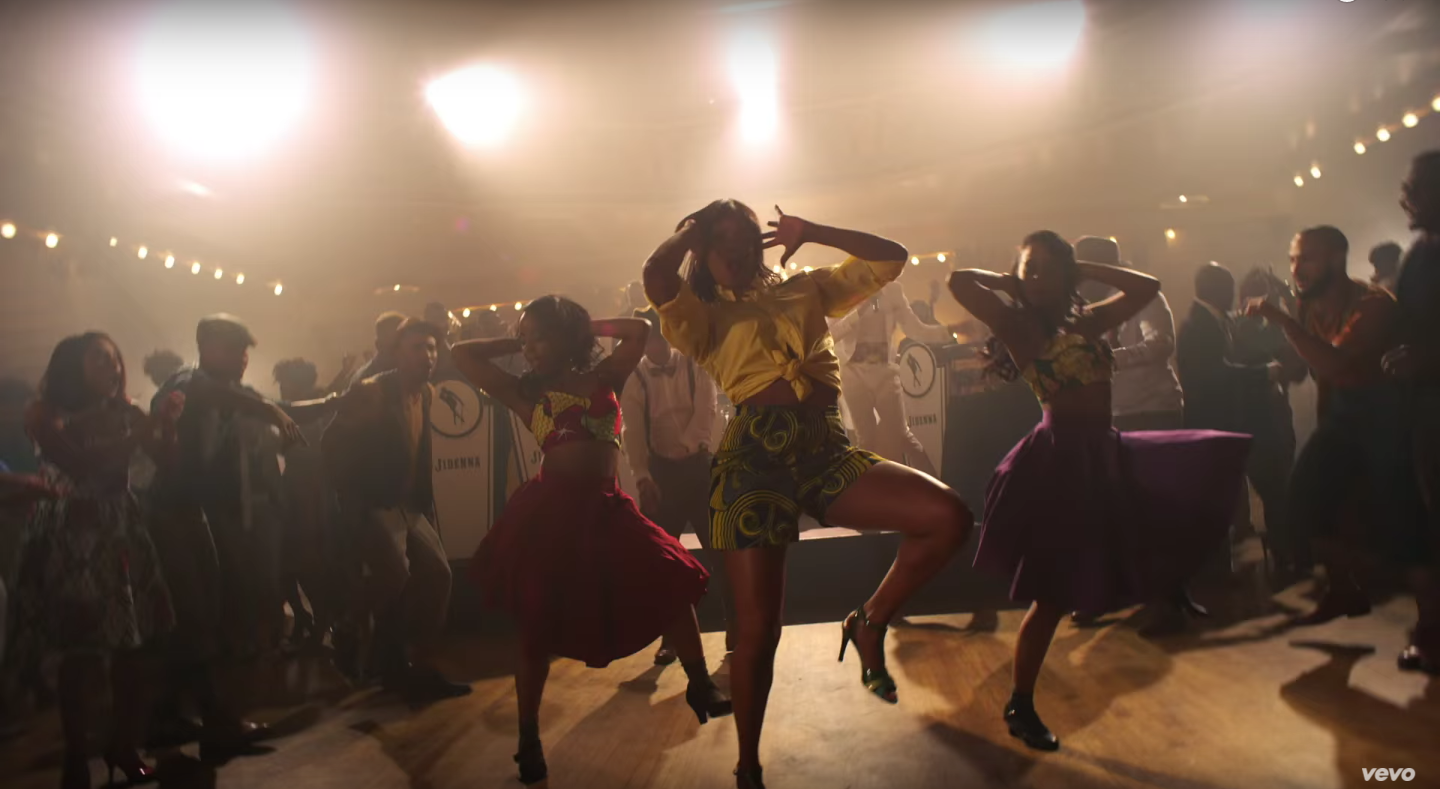 Nikki Billie Jean Spotted in Jidenna Knickers Music Video 2