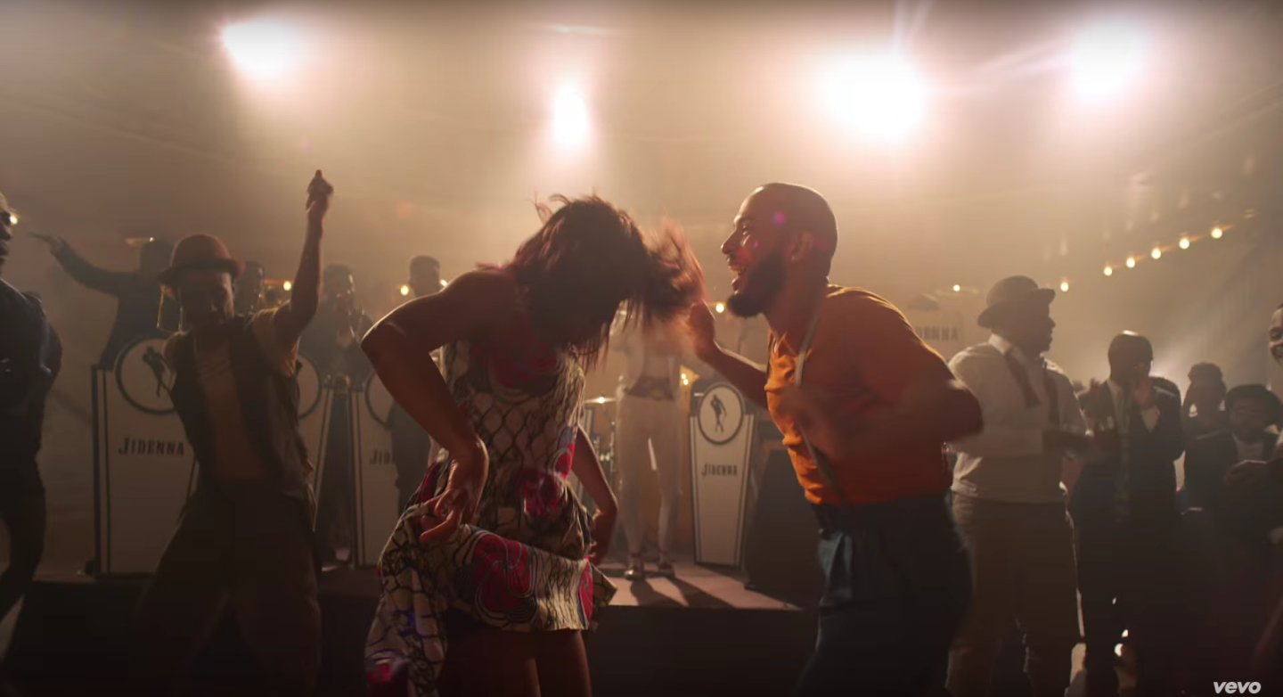 Nikki Billie Jean Spotted in Jidenna Knickers Music Video 4