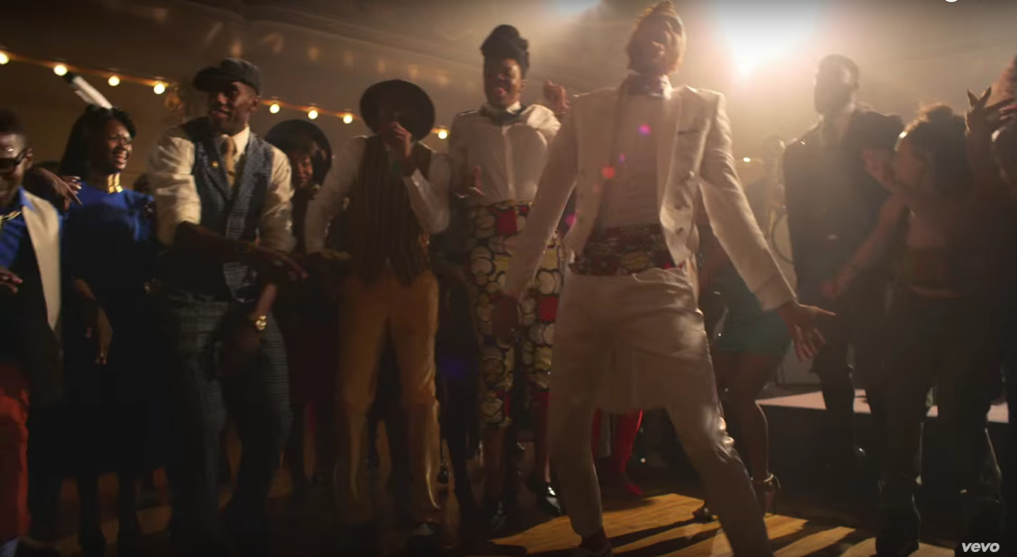 Nikki Billie Jean Spotted in Jidenna's Knickers Music Video