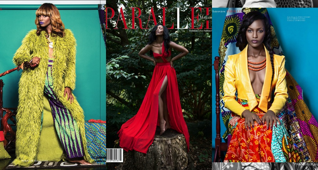 Nikki Billie Jean works with Mame Adjei as a Wardrobe Stylist for Parallel Magazine Phoenix Issue 2016