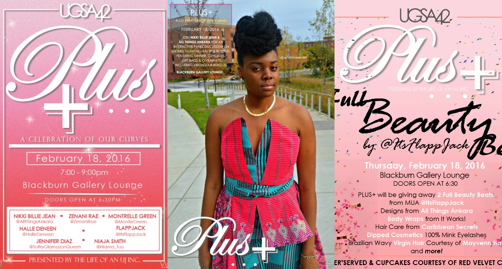 Plus+ A Celebration of Our Curves Presented by The Life of An Uj Inc.