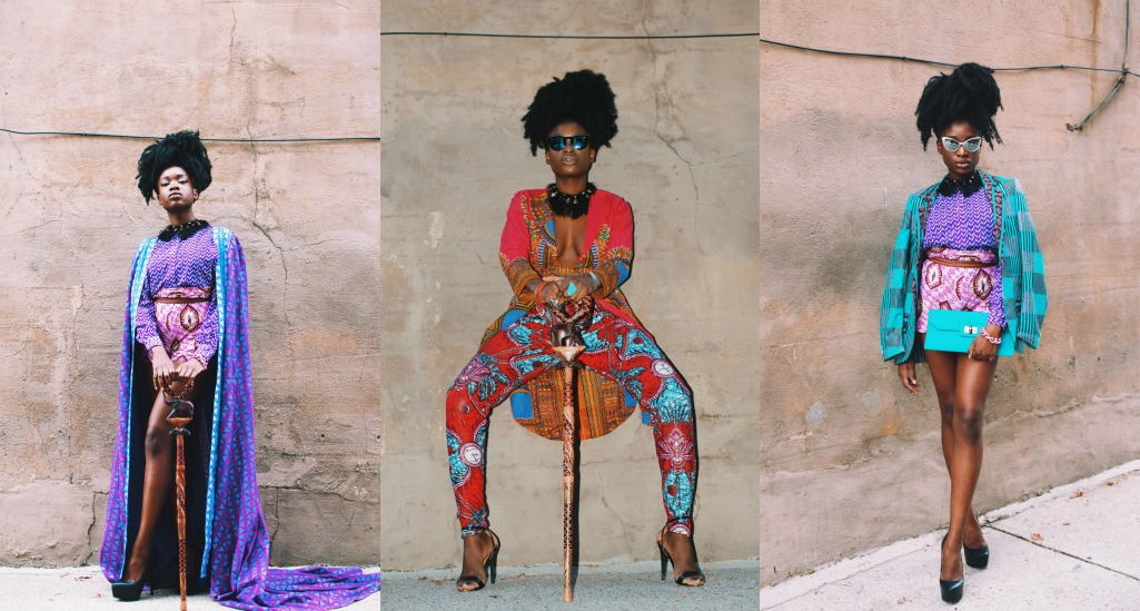 All Things Ankara x Nikki Billie Jean Collage