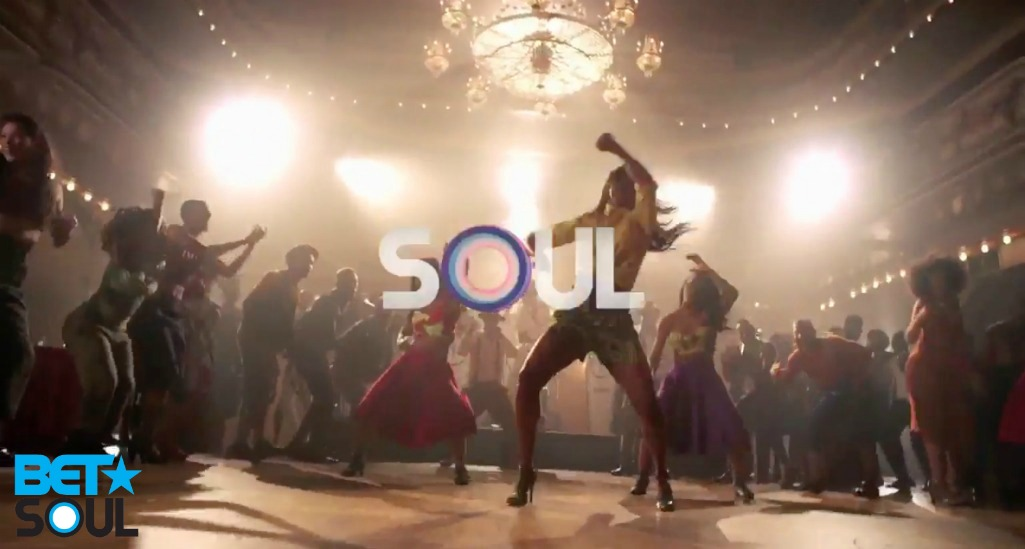 Nikki Billie Jean spotted in BET Soul Commercial