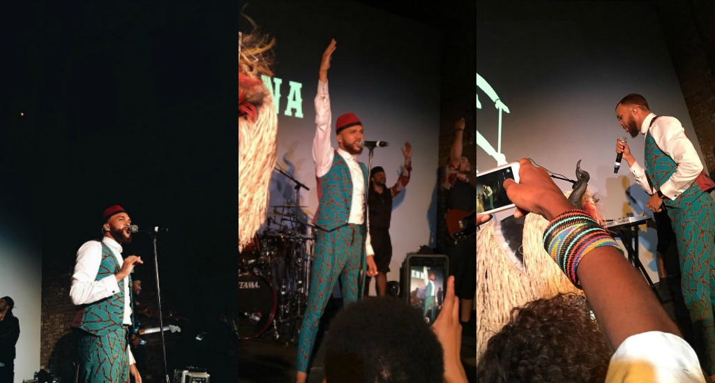 Jidenna Performs at AFRICA'SOUT! Celebration After Party 2016 in Nikki Billie Jean Collage