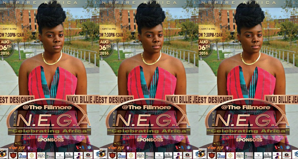 Nikki Billie Jean Nominated for Best Designer at N.E.G.A. Awards 2016