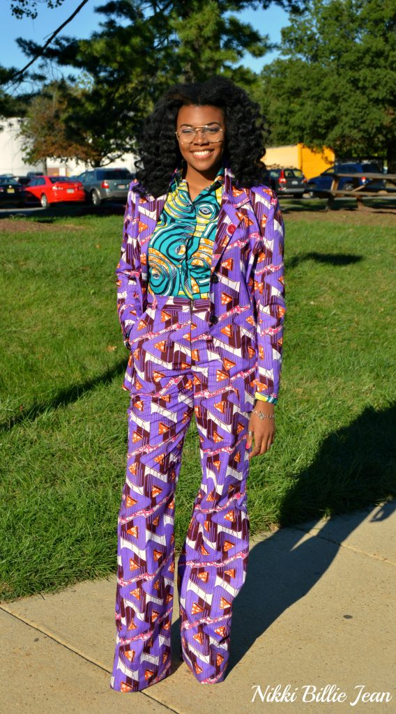 25th-birthday-nikki-billie-jean-purple-ankara-print-blazer-high-waisted-wide-legged-pants-suit-blue-ankara-print-longsleeve-button-up-shirt-4