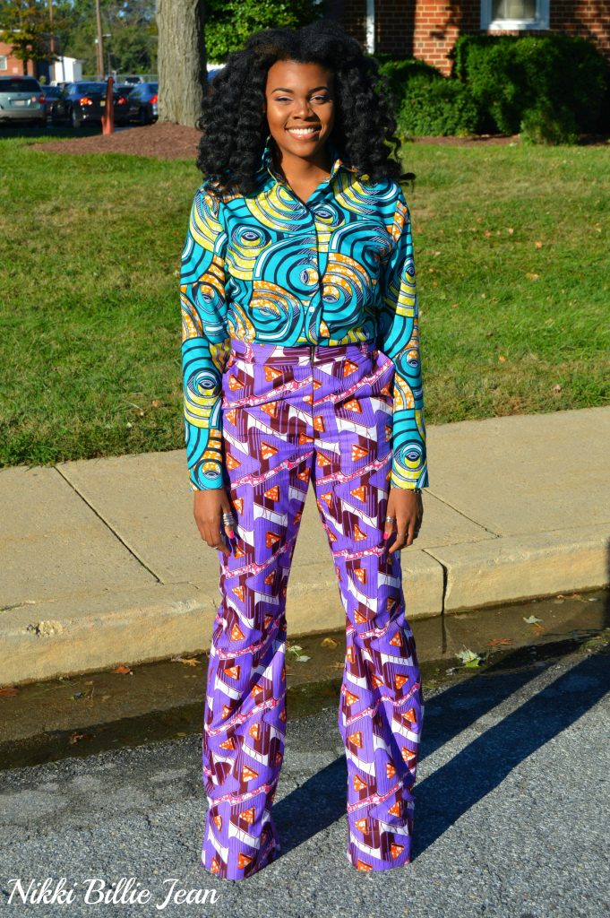 25th-birthday-nikki-billie-jean-purple-ankara-print-blazer-high-waisted-wide-legged-pants-suit-blue-ankara-print-longsleeve-button-up-shirt-8