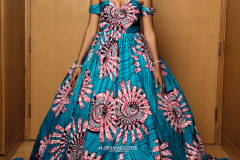 My Royal Ankara Print Ball Gown for Africa Gives Back International Gala 2018 4