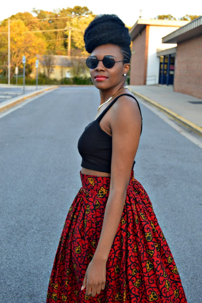 leather-ankara-black-forever-21-leather-jacket-black-croptop-and-red-puksies-wardrobe-aymone-maxi-skirt-for-all-things-ankara-fashion-week-2014-day-1-4