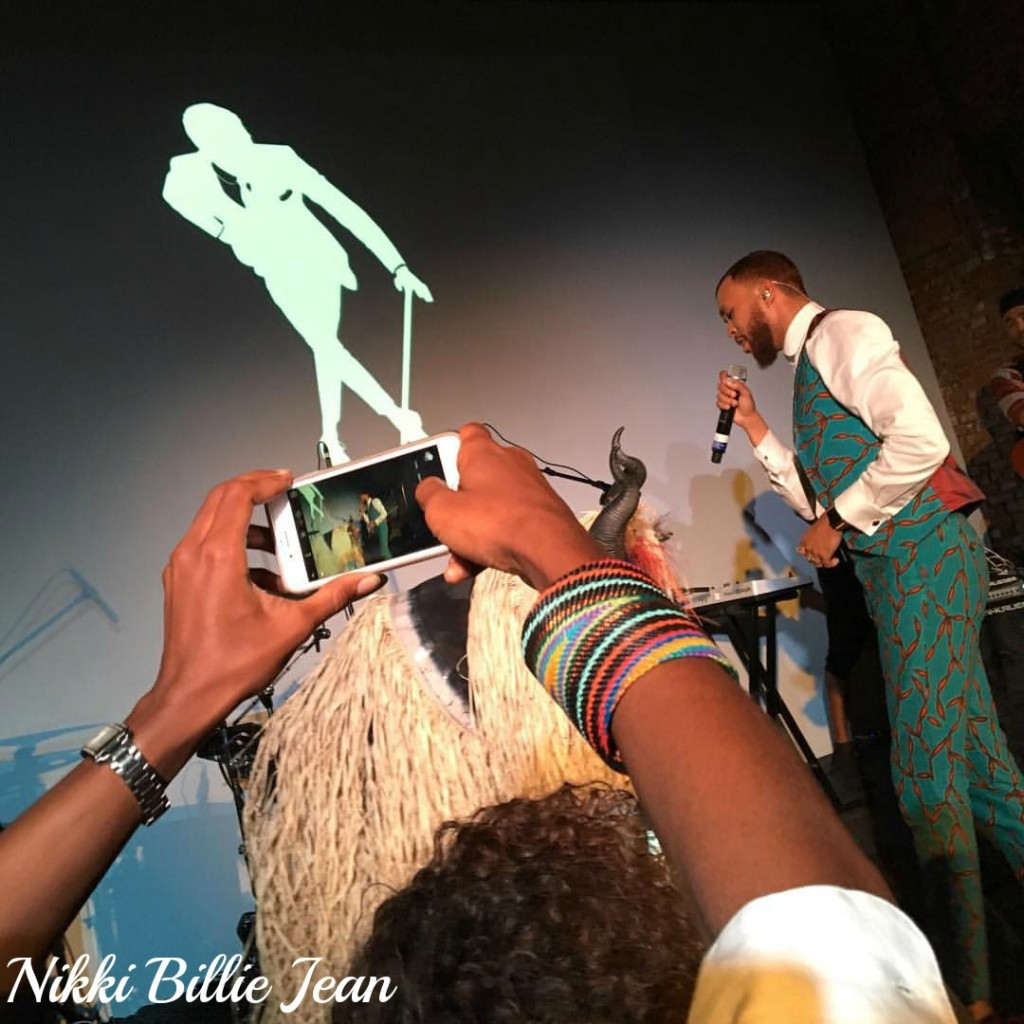 Jidenna Performs at AFRICA'SOUT! Celebration After Party 2016 2