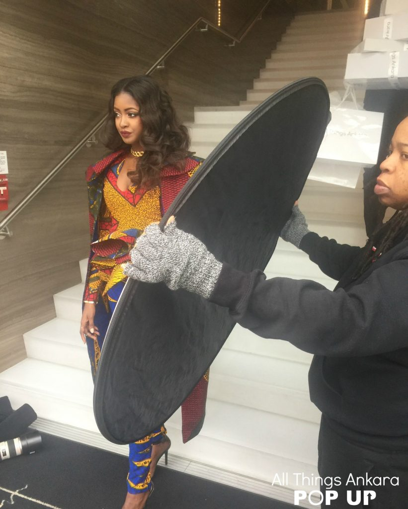 """""""Shopping Like A Boss"""" All Things Ankara Pop Up 2017 Campaign (Behind-The-Scenes) Photo 2"""