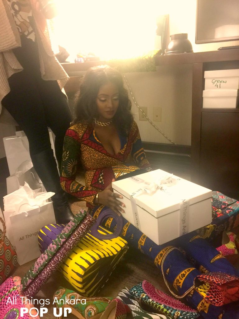 """""""Shopping Like A Boss"""" All Things Ankara Pop Up 2017 Campaign (Behind-The-Scenes) Photo 3"""
