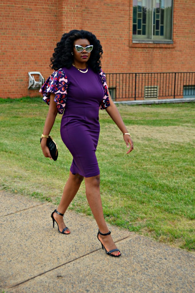 Jamila Keyhole Bell Sleeve Dress by Mode9ine for Edom and Wole's 2017 Wedding 5