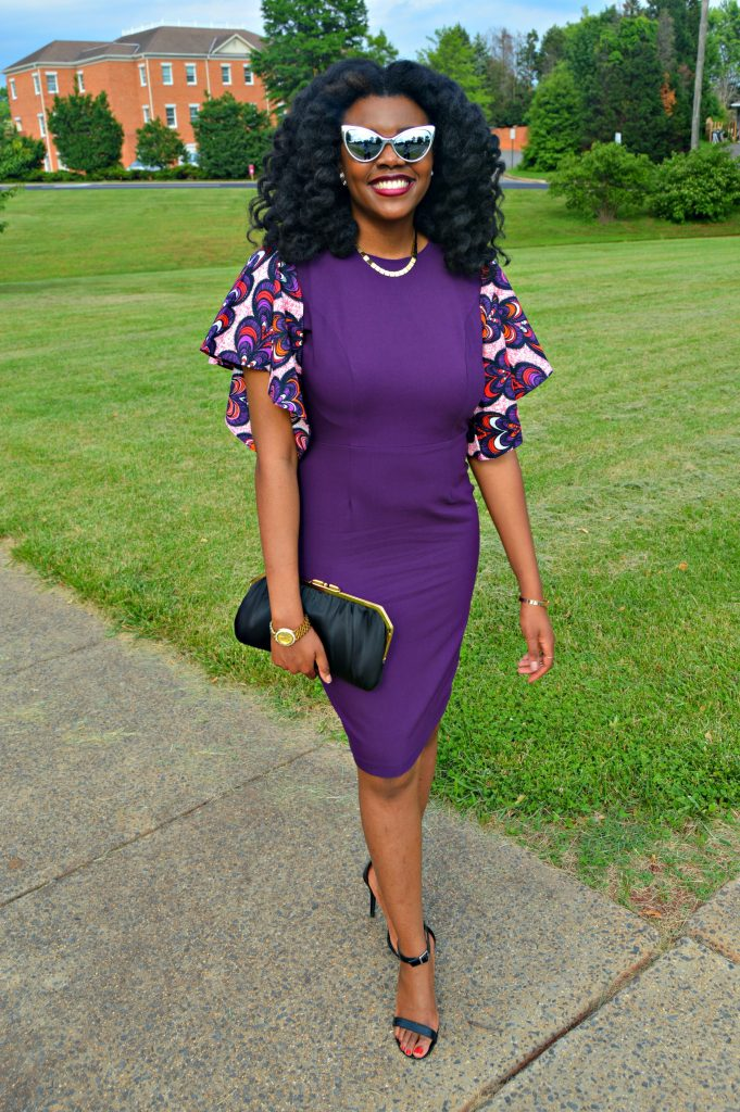 Jamila Keyhole Bell Sleeve Dress by Mode9ine for Edom and Wole's 2017 Wedding 6