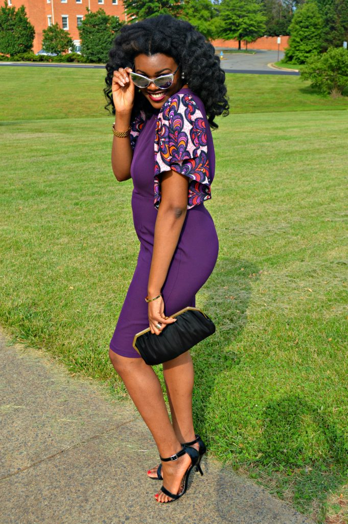 Jamila Keyhole Bell Sleeve Dress by Mode9ine for Edom and Wole's 2017 Wedding 7
